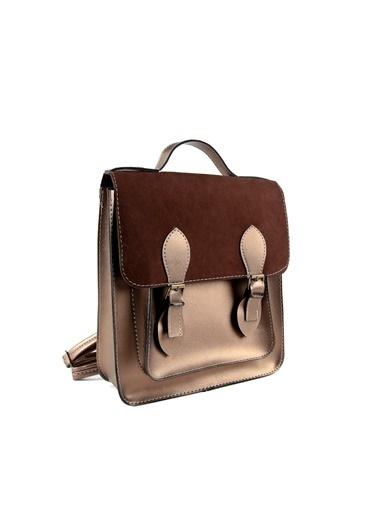 EOZ- Wera polo çanta Çanta Altın
